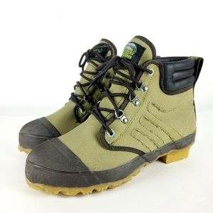 Dogwood Canyon Fishing Boots Men Sz 8 Steel Shank